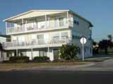 The building that housed many real estate offices in Flagler Beach.